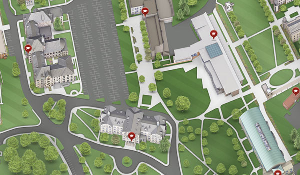 Virtual Campus Map (Alt)