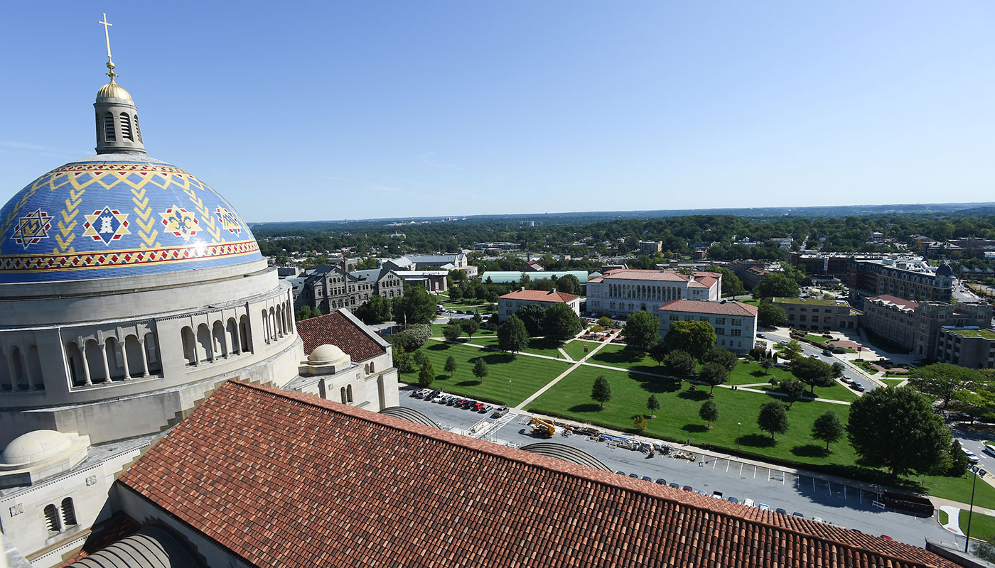 Basilica dome and campus
